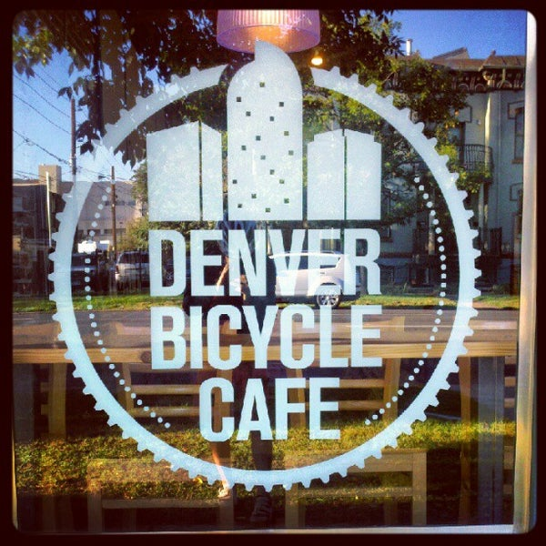 Photo taken at Denver Bicycle Cafe by Chase M. on 9/14/2012