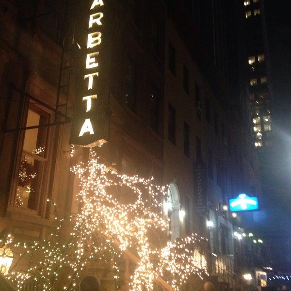 Foto tomada en Barbetta por Kevin V. el 12/11/2014
