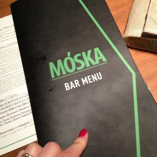 รูปภาพถ่ายที่ Moska Bar โดย TanyaSha . เมื่อ 5/26/2013