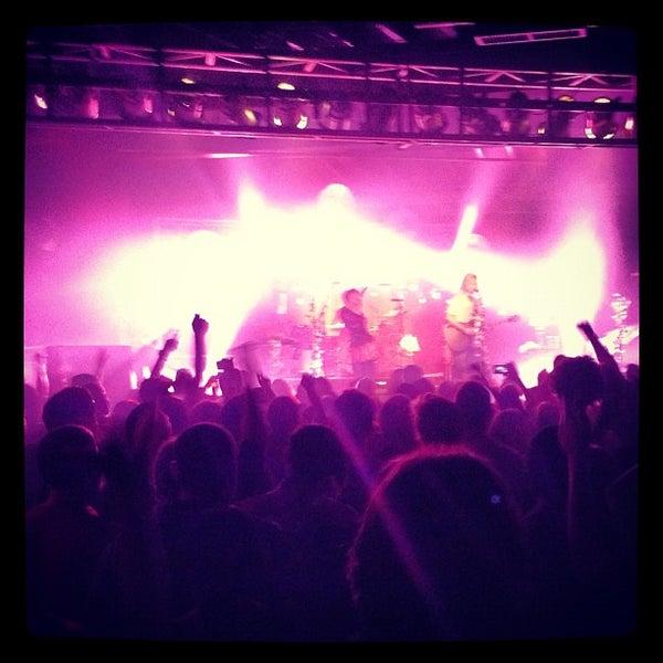 Снимок сделан в The Cannery Ballroom пользователем Andrew M. 10/24/2012