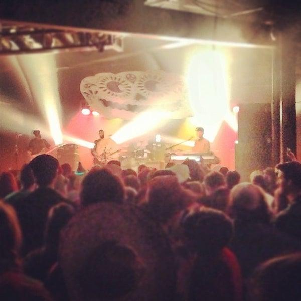 Снимок сделан в The Cannery Ballroom пользователем Andrew M. 11/1/2012
