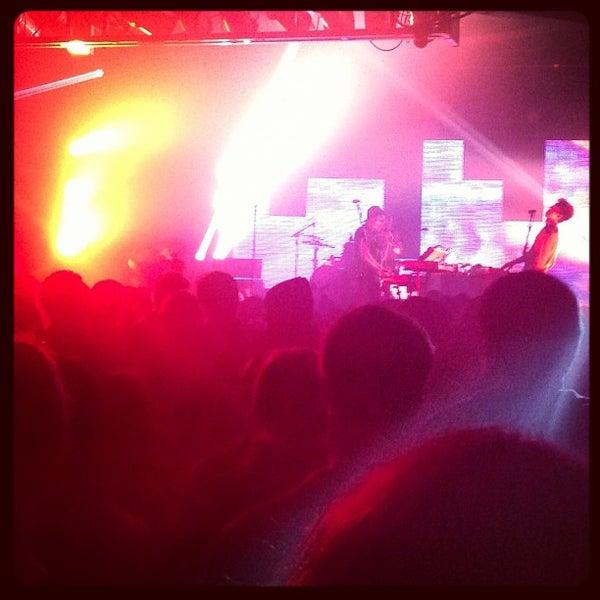Снимок сделан в The Cannery Ballroom пользователем Andrew M. 12/1/2012
