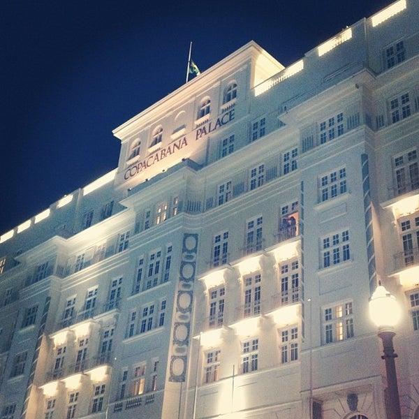 3/8/2013에 Jonathan K.님이 Belmond Copacabana Palace에서 찍은 사진