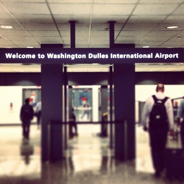 Снимок сделан в Вашингтонский аэропорт имени Даллеса (IAD) пользователем Aimless A. 5/15/2013