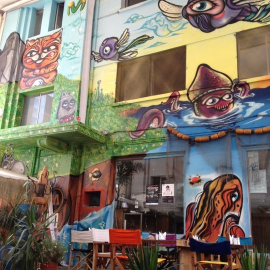 11/21/2012 tarihinde Gamo G.ziyaretçi tarafından Terraza Isidora Beach Club'de çekilen fotoğraf