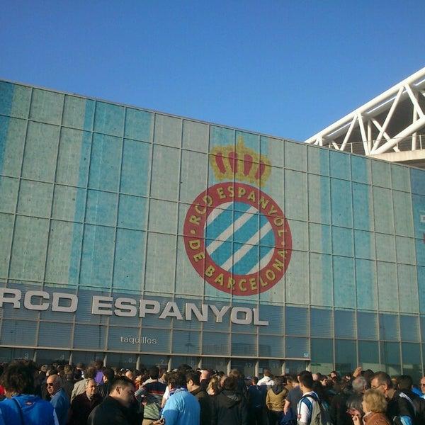 Foto diambil di RCDE Stadium oleh Joan O. pada 3/31/2013