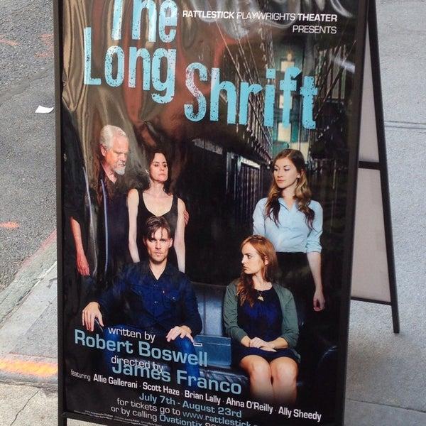 8/9/2014にTravis F.がRattlestick Playwrights Theaterで撮った写真
