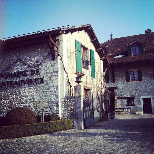 Foto tirada no(a) Domaine de Châteauvieux por Ruoling S. em 3/3/2013