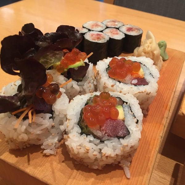 Снимок сделан в Kiku Restaurant пользователем Dasha S. 7/30/2017