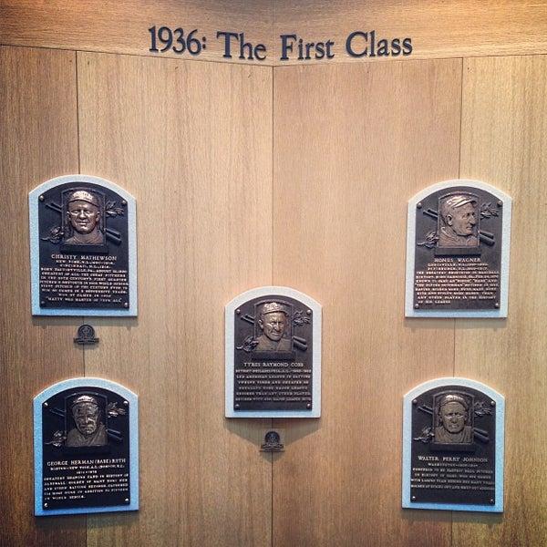 9/7/2013 tarihinde Matt G.ziyaretçi tarafından National Baseball Hall of Fame and Museum'de çekilen fotoğraf