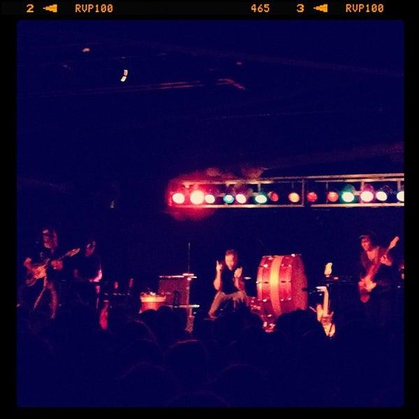 Снимок сделан в The Cannery Ballroom пользователем Danielle L. 10/23/2012