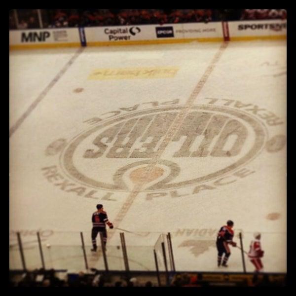 3/16/2013 tarihinde Elizabeth W.ziyaretçi tarafından Northlands Coliseum'de çekilen fotoğraf