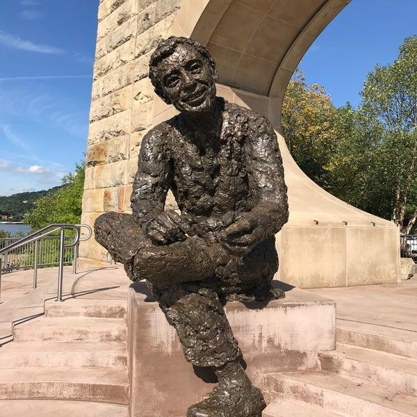Photos At Mr Rogers Memorial Pittsburgh North Shore Northshore Pittsburgh Pa