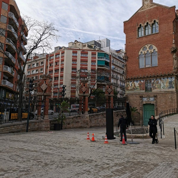Photo taken at Sant Pau Recinte Modernista by Pierre B. on 1/28/2020