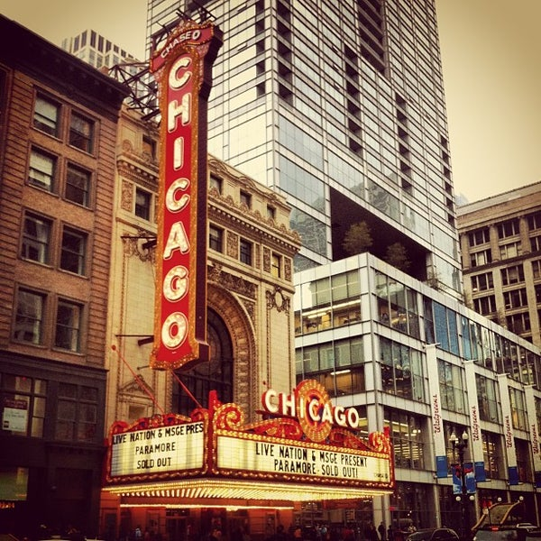 Foto scattata a The Chicago Theatre da Audrey P. il 5/10/2013