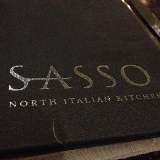 Foto tirada no(a) Sasso por Sami E. em 11/27/2012