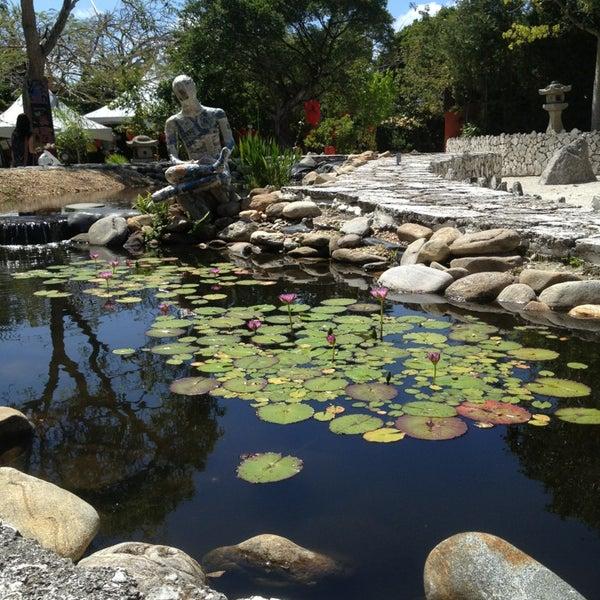 Japanese Inspired Garden In Grant Park: Ichimura Miami Japanese Garden