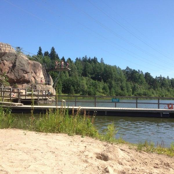 Das Foto wurde bei Pikkukosken uimaranta von Mika O. am 7/17/2014 aufgenommen