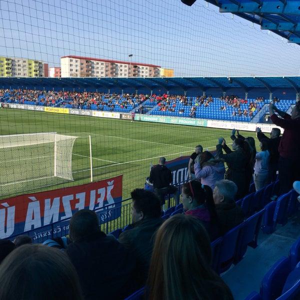 Foto tirada no(a) Štadión FK Senica por Martin F. em 4/2/2016