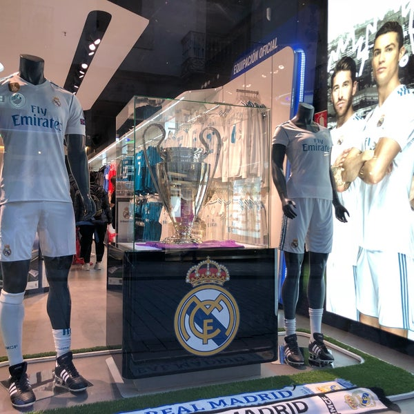 3f6bd8326 Photo taken at Real Madrid Official Store by GolNaz on 3 31 2018