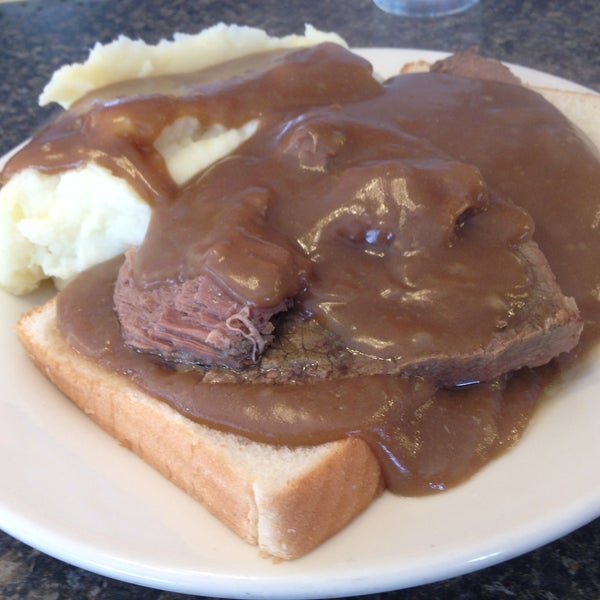 """From our review: Watch the daily lunch specials. Friday's roast beef dinner is """"thickly sliced, seasoned modestly"""" and perfectly cooked. Read more: http://bsun.md/PSaA7O"""
