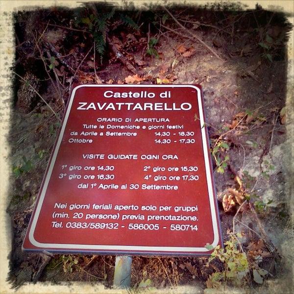รูปภาพถ่ายที่ Castello di Zavattarello โดย Surrealia S. เมื่อ 11/13/2011