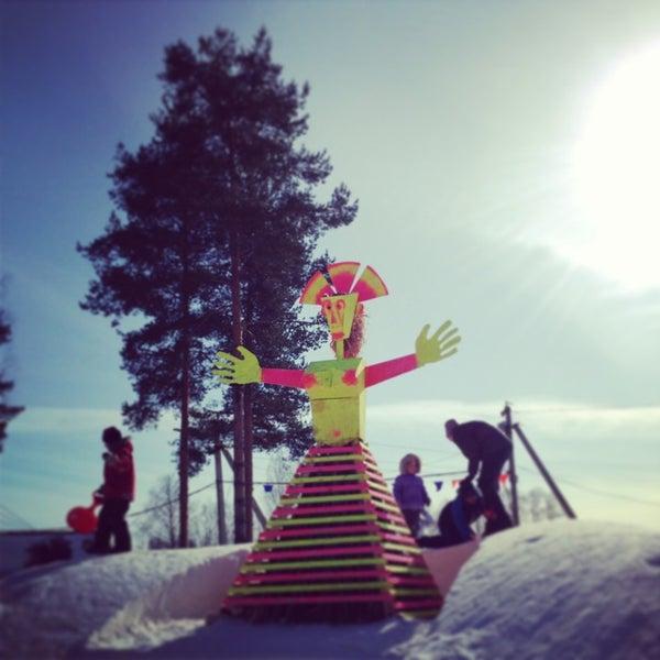 3/17/2013 tarihinde Maríziyaretçi tarafından Охта Парк'de çekilen fotoğraf