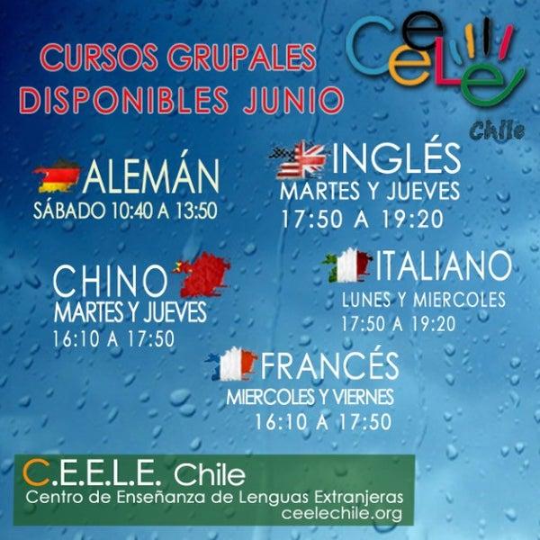 Foto tirada no(a) Ceele Chile centro de idiomas por Pablo E. em 5/28/2015