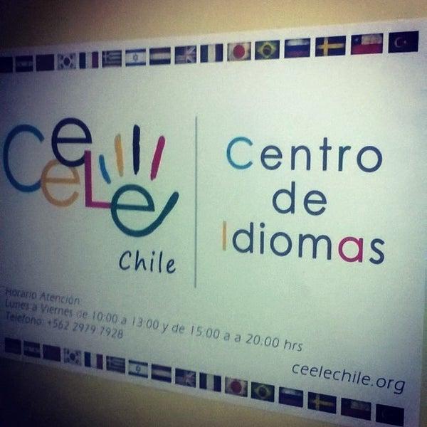 Foto tirada no(a) Ceele Chile centro de idiomas por Pablo E. em 3/18/2016