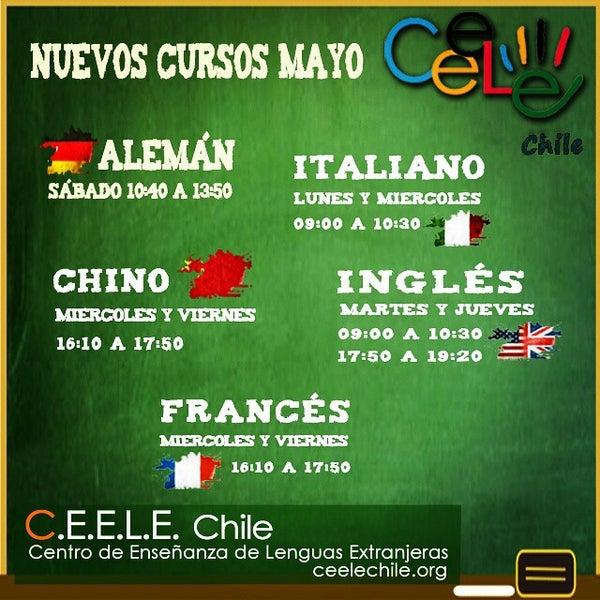 Снимок сделан в Ceele Chile centro de idiomas пользователем Pablo E. 5/4/2015