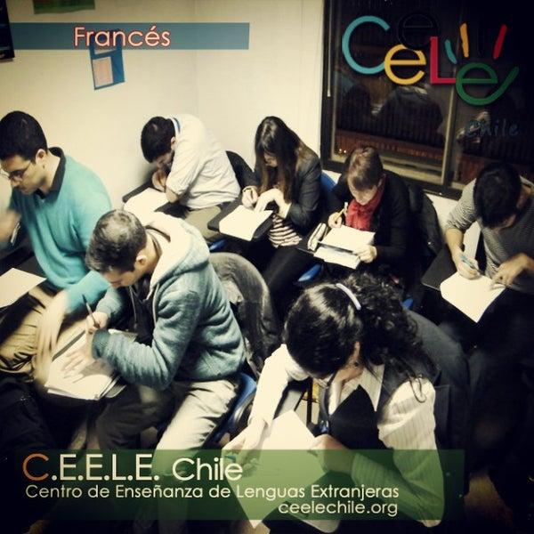 Снимок сделан в Ceele Chile centro de idiomas пользователем Pablo E. 6/9/2015