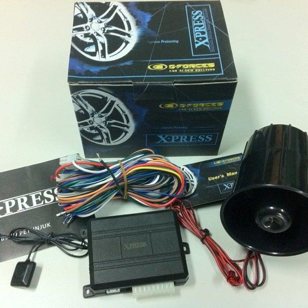 G Forces Car Alarm Solution