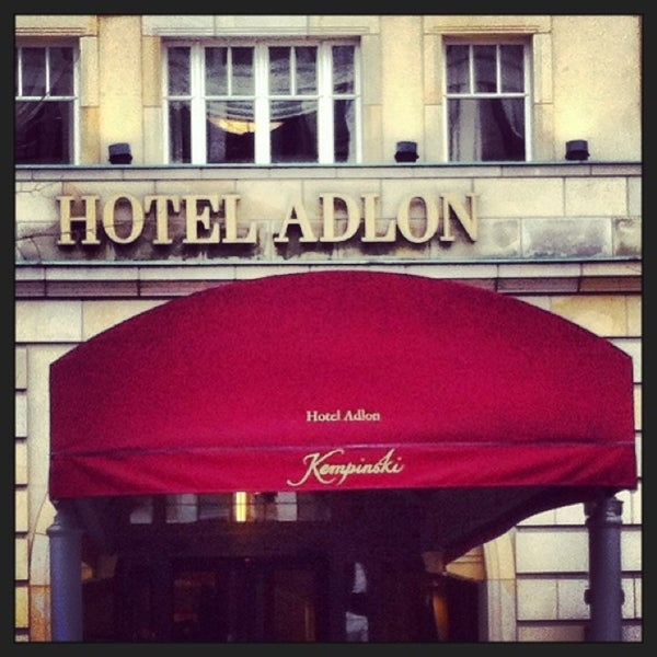 2/7/2013에 Katharina S.님이 Hotel Adlon Kempinski Berlin에서 찍은 사진