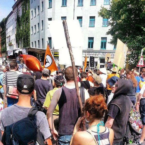 Photo prise au Critical Mass Berlin par Mario S. le7/27/2013