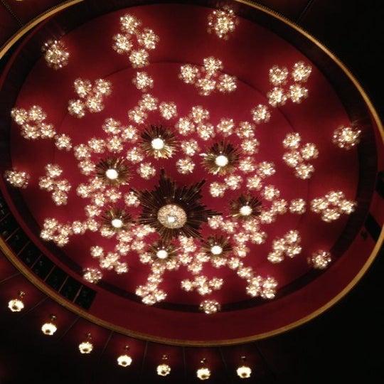11/16/2012 tarihinde Coco M.ziyaretçi tarafından The John F. Kennedy Center for the Performing Arts'de çekilen fotoğraf