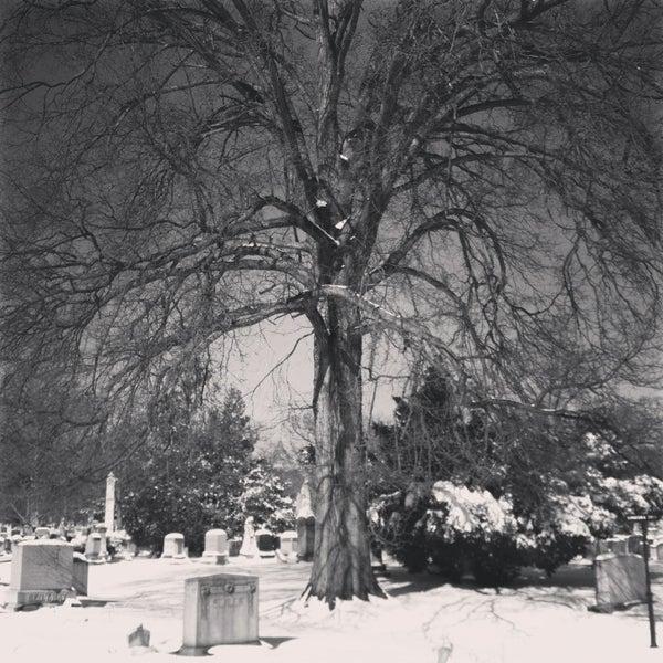 Foto tomada en Green-Wood Cemetery por Wissam M. el 2/9/2013