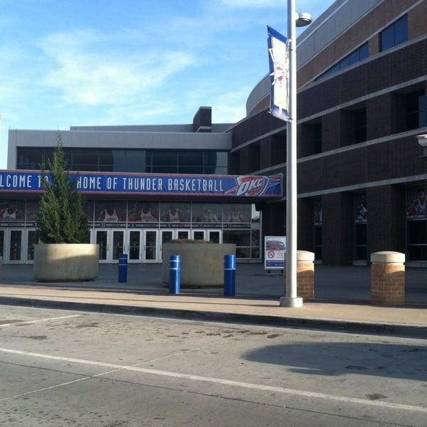 Das Foto wurde bei Chesapeake Energy Arena von Courtney M. am 3/26/2013 aufgenommen
