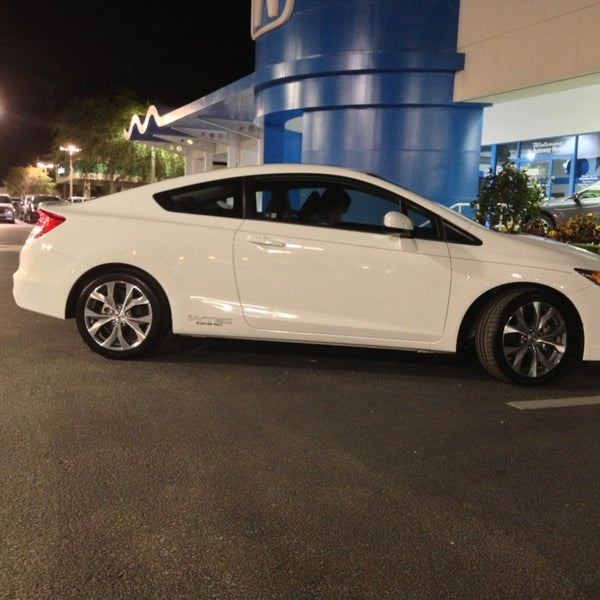 Photo Taken At Autonation Honda Clearwater By Bryan B On 4 11 2017