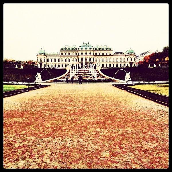 10/21/2012 tarihinde Ferdinand K.ziyaretçi tarafından Oberes Belvedere'de çekilen fotoğraf