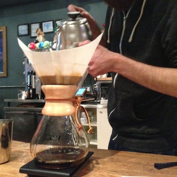 12/27/2012에 Ryan B.님이 The Wormhole Coffee에서 찍은 사진
