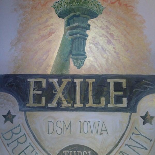 Das Foto wurde bei Exile Brewing Co. von Josh C. am 6/26/2013 aufgenommen