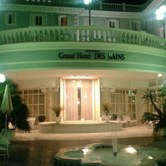 11/20/2012にFrancesca F.がGrand Hotel Des Bainsで撮った写真