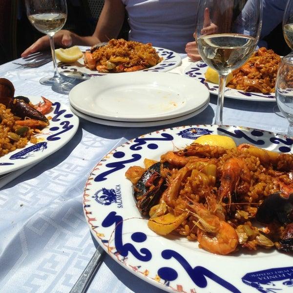 Das Foto wurde bei Restaurante Salamanca von Daniele M. am 5/19/2013 aufgenommen