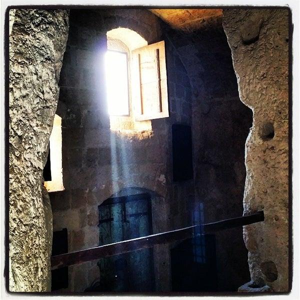 Снимок сделан в Sextantio | Le Grotte della Civita пользователем Edmondo A. 1/26/2014