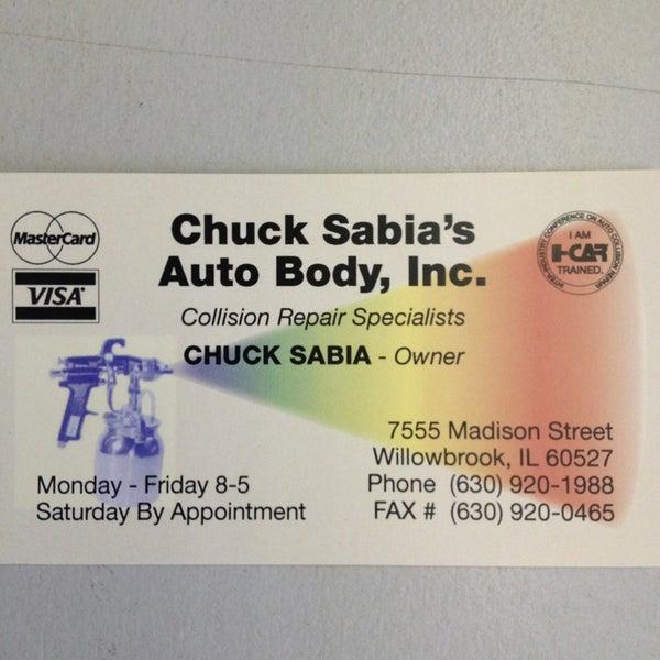 Chucks Auto Body >> Photos At Chucks Sabia S Auto Body Automotive Shop