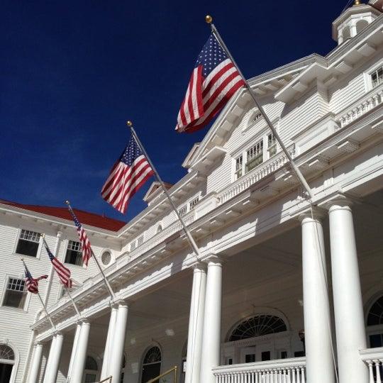 Снимок сделан в Stanley Hotel пользователем jason b. 10/19/2012