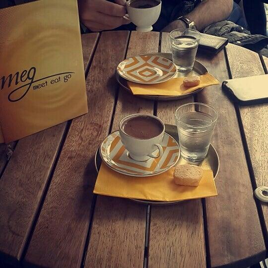 6/15/2016 tarihinde İlayda A.ziyaretçi tarafından MEG Cafe'de çekilen fotoğraf