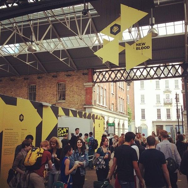 Foto tomada en Old Spitalfields Market por James G. el 7/4/2013