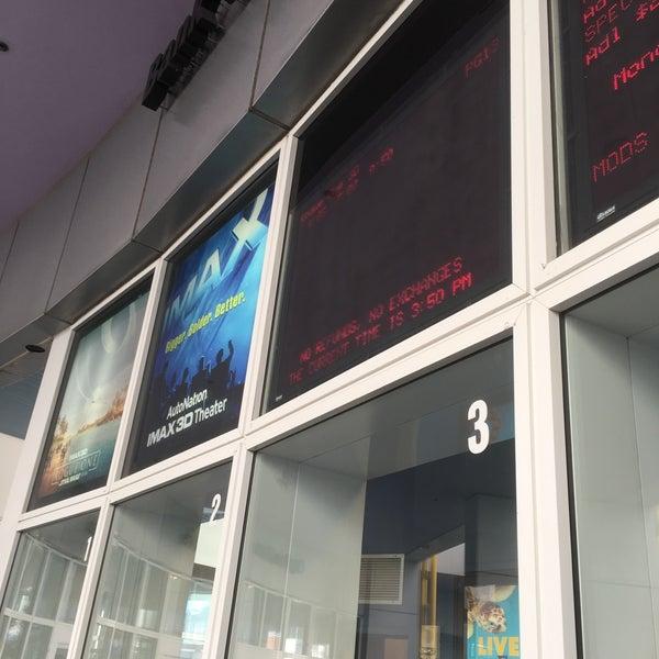 Снимок сделан в Autonation IMAX 3D Theater пользователем Zoltan V. 1/8/2017