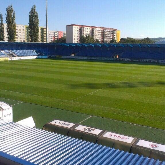 Foto tirada no(a) Štadión FK Senica por Jakub H. em 9/29/2015